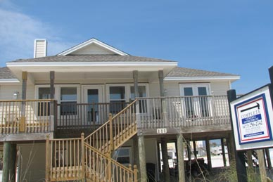Hubbard Beach House Restoration Following Hurricane Ivan