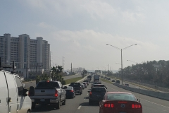 Hurricane Michael Traffic