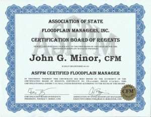 Floodplain Manager Certification