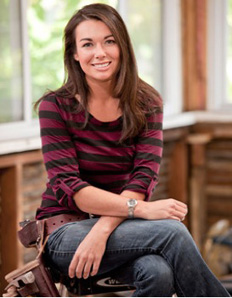Kayleen McCabe, host of Last House Standing