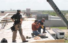 Post-tornado reconstruction