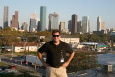 John Minor visiting the Dallas/Fort Worth metroplex