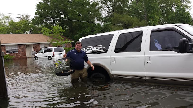 John Minor Harvey Flood Relief