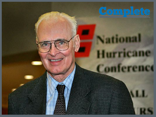Dr. Gray at the 2006 National Hurricane Conference