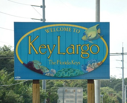 Key Largo Sign