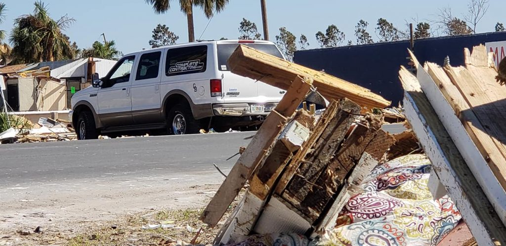 Mexico Beach, Florida Damage