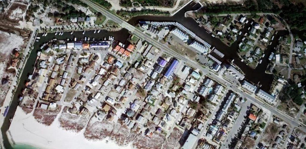 Mexico Beach, Florida Satellite Image