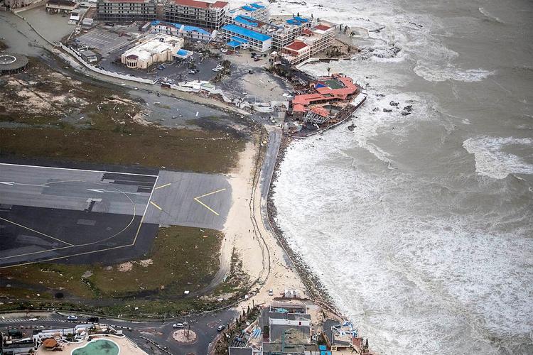 Hurricane Irma St Martin