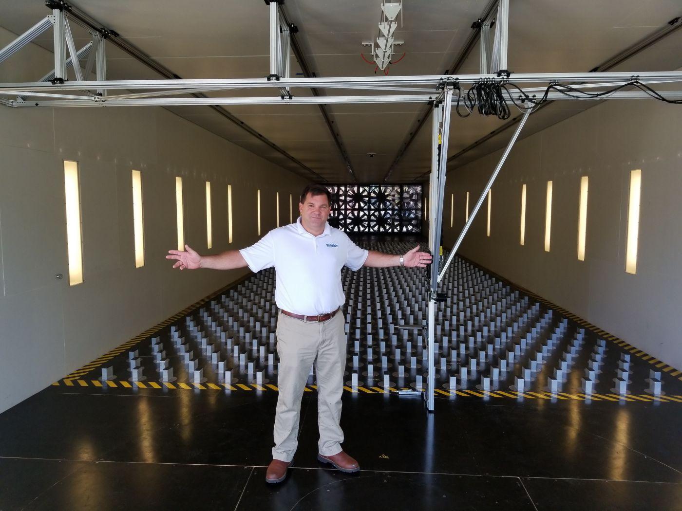John Minor at UF Powell lab - Fenestration study