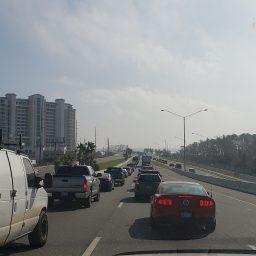 Hurricane Michael Traffic