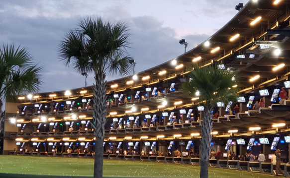 TopGolf Windstorm Championship on Monday the 27th